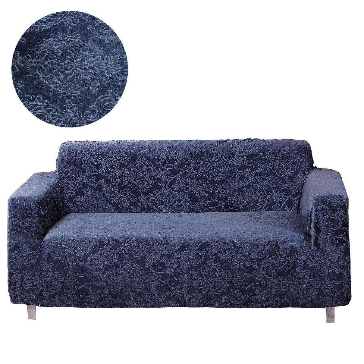 Moving Garden Jacquard Sofa Covers Stretch Elastic Fabric Flower Printing Chari Loveseat Slipco Jmtall